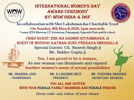 Report of Women's Day Program