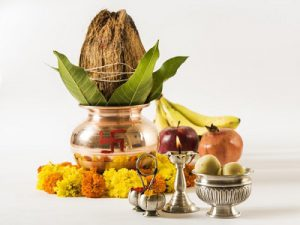 Coconut for puja