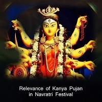 Relevance of Kanya Pujan in Navratri Festival
